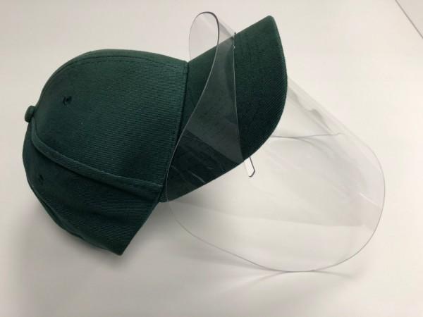 Gesichtsschutzmaske PlexyCap   Schild   unbedruckt